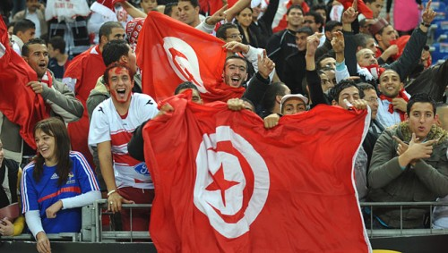 Tunisie supporter football