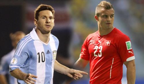Messi vs. Shaqiri