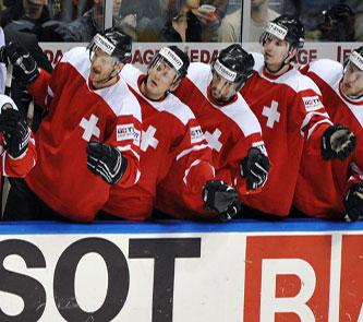 Jeux Olympiques 2010: Match Norvège-Suisse hockey résultat ...