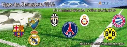 Tirage au sort C1 2013 - quart de finale